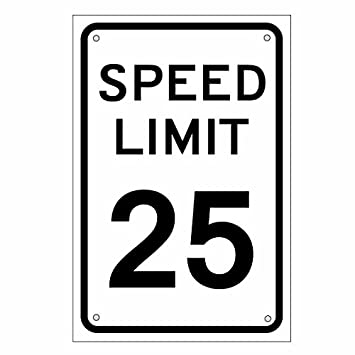 amazon co jp アメリカの道路標識 speed limit スピードリミット