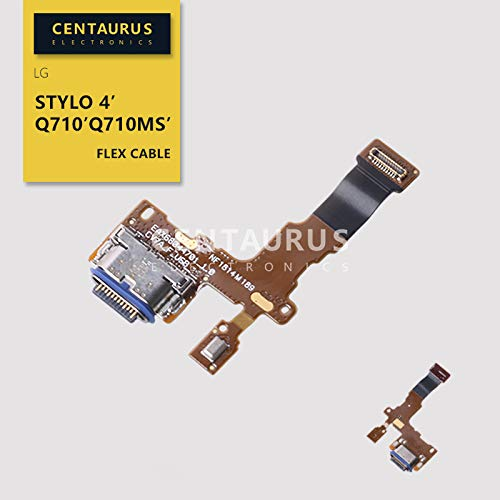 Stylo 4 USB Charger Connector Charging Board Port Dock Flex Cable Replacement for LG Stylo 4 / Q Stylus/Q Stylus+ / Q8 2018 Q815 / Q710 Q710MS Q710CS Q710AL Q710TS Q710US Q710ULM L713DL LMQ710FM