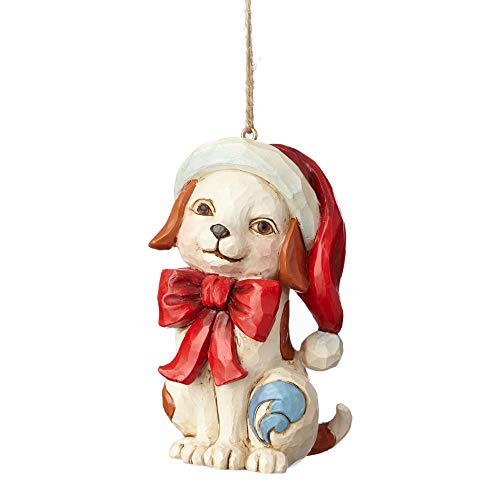 (Enesco-Gift 4058829 Puppy with Bow Ornament, Multicolor)