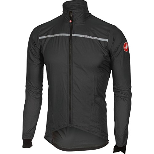 Castelli Superleggera Jacket - Men's Anthracite, M