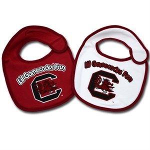 NCAA South Carolina Fighting Gamecocks Infant Bib 2-Piece