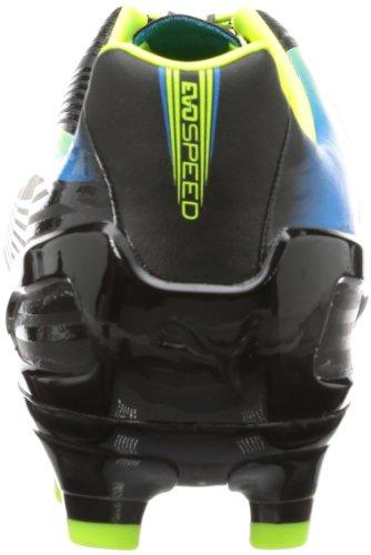 Puma evoSPEED 3.2 FG 102864 Herren Fußballschuhe Schwarz (black-fluo yellow-brilliant blue 01)