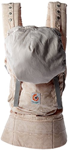 Ergobaby Original Award Winning Ergonomic Multi-Position Baby Carrier with X-Large Storage Pocket, Rose Harmony by Ergobaby