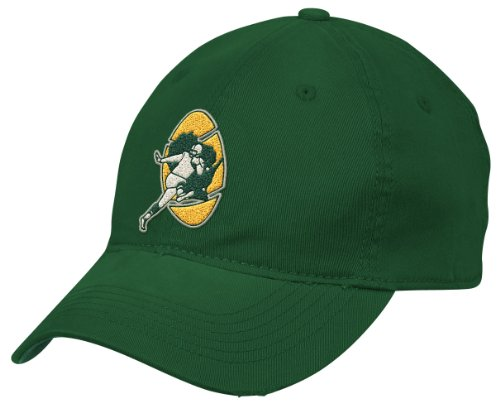 - NFL Green Bay Packers End Zone Team Color Flex Slouch Hat - EN13Z, Green, Small/Medium