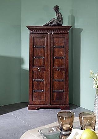 Massivmoebel24de Kolonialmöbel Schrank Akazie Holz Massiv Oxford