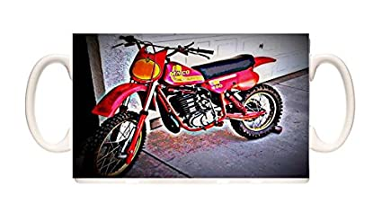 Mug 1981 Maico 490 Bike Motorcycle Ceramic Cup Box Gift