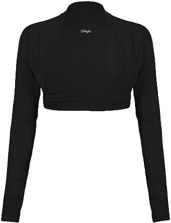 HDE Plus Size Womens Bolero Long Sleeve Cardigan Shrug