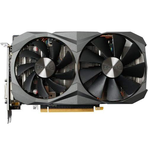 ZOTAC GeForce GTX 1060 DirectX 12 6GB 192-Bit GDDR5X PCI Express 3.0 HDCP Ready Video Card Model ZT-P10620A-10M