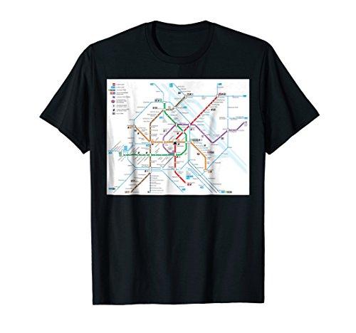 Vienna subway map - Austria - T-shirt