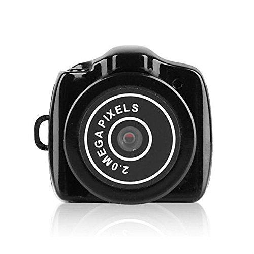 Japace Y2000 - Videocámara espía, negro