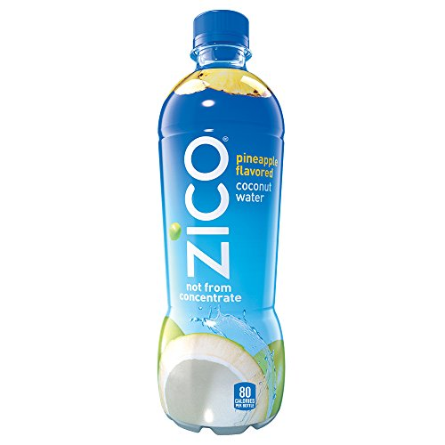 Zico Coconut Water, Pineapple, 16.9 Ounce (Pack of 12)