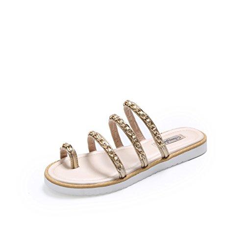 Y Zapatillas sandalias verano B Señora Planas deslizadores Bajo tacón natWxnf