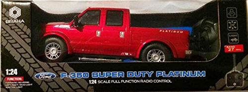 (Braha Ford F-350 Super Duty Platinum 1:24 Scale Full Function Radio Control)