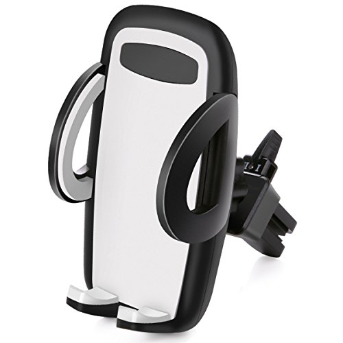 B-Land Car Phone Mount, Universal Air Vent Mount Holder Cradle Car Cell Phone Holder for iPhone X/8/8Plus/7/7Plus/6s/6Plus/5S, Galaxy S5/S6/S7/S8, Google Nexus, LG, Huawei and More