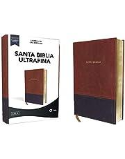LBLA Santa Biblia Ultrafina, Leathersoft, Café