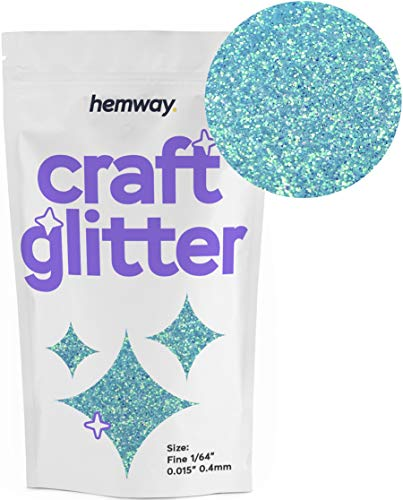 - Hemway Craft Glitter 100g 3.5oz FINE 1/64