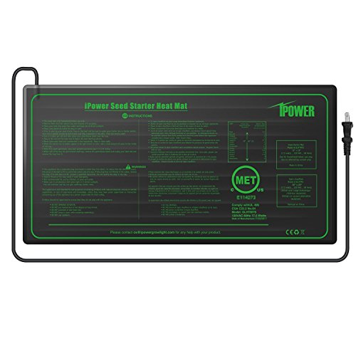 iPower Durable Waterproof Seedling Heat Mat 10