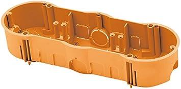 FAMATEL 3257 - Caja empotrar pladur 67x45 triple: Amazon.es: Bricolaje y herramientas