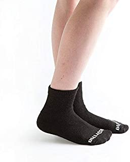 product image for Doc Ortho Ultra Soft Loose Fit Diabetic Socks, 3 Pairs, 1/4 Crew