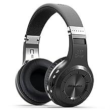 HOT Eagle Bluedio H+ Turbine Hurricane Bluetooth Wireless Stereo Over-ear Headphone Earphone Headset with Micro Sd Card Fm Radio (Black)