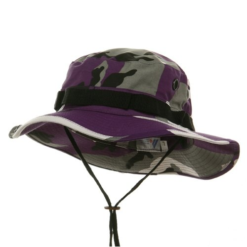 Amazon.com  Boonie Hats-Lilac W11S42D (LRG)  Military Apparel ... 7ddeb433c87
