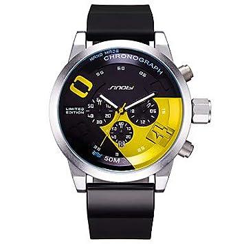 Fashion Watches Relojes Hermosos, SINOBI Hombre Reloj Deportivo Reloj Creativo único Chino CuarzoCalendario Resistente al Agua Luminoso Cronómetro ...