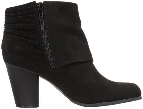 Madden Girl Women's Destory Ankle Bootie Black Fabric u0kqIE4V