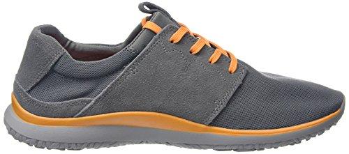 Grigio Merrell Airmesh Getaway Orange Lace Scarpe Uomo Grey Orange Basse da Airmeshgrey Ginnastica H101q