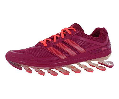 adidas Performance Women's Springblade W Running Shoe, Blast Pink F13/Red Zest/Pride Pink, 10 M US