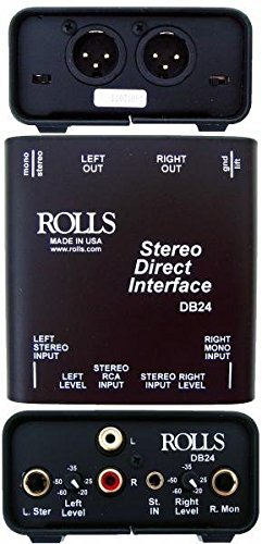 - rolls Stereo Direct Interface (DB24)