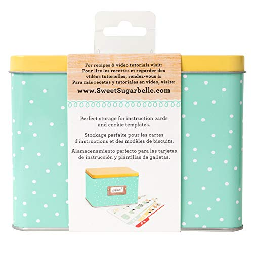 (Sweet Sugarbelle Recipe Card Tin by American Crafts)