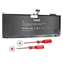 Temark New A1321 Laptop Battery for Apple Macbook Pro 15 inch A1286 (only for 2009 2010 version),fit MB985 MB986J/A MC118 MB986 020-6380-A 020-6766-B