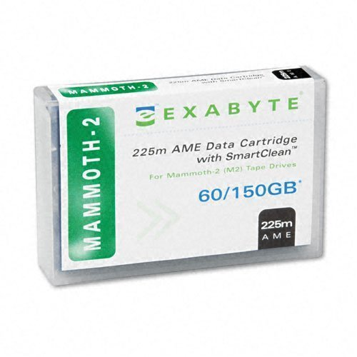 Exabyte 00558 1pk Mammoth2 8mm 225m 60/150gb Supl W/ Smartclean Tape Cartridge