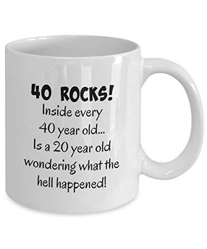 1979 40th birthday gifts for women, men, mom, dad, male, woman, man, wife, husband, guys, fun gag gift present, happy 40 year old, coffee mug, tea cup
