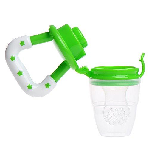 Obst und Gemüse beißen beißen Baby-Schnuller BPA frei, Grün, Größe: M