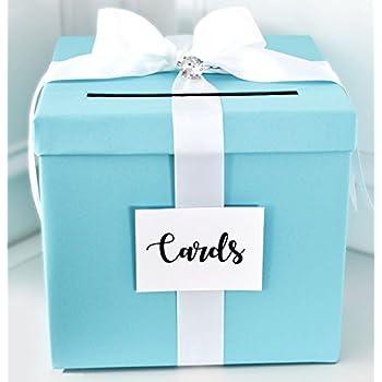 Amazoncom Deco4Fun White Card Box Wishing Well Plain Money Gift