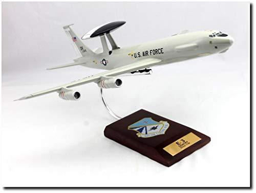 (Planejunkie Aviation Desktop Model - E-3A Sentry AWACS 1/100 552d Air Control Wing)