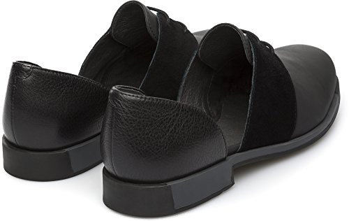 Camper Bowie K200202-005 Zapatos planos Mujer Negro