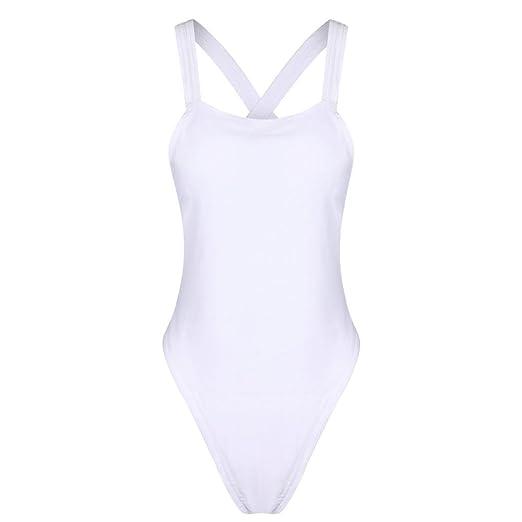 19ce46ef1c2ad TRENDINAO 2017 Hot Beach Swimsuit Lady Girls Women White Black Sexy One  Piece Backless Bikini