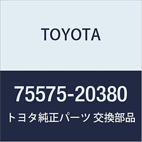 Genuine Toyota 75575-20380 Window Molding