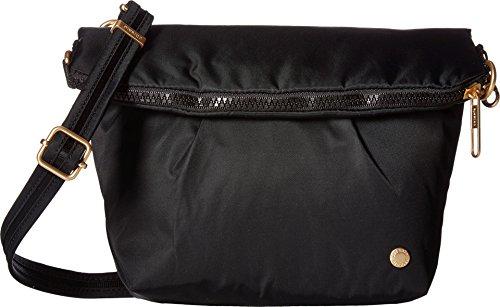 Pacsafe Unisex Citysafe CX Convertible Crossbody Black Crossbody Bag