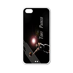 All Star Tony Parker plastic hard case skin cover for iPhone 4s AB630562