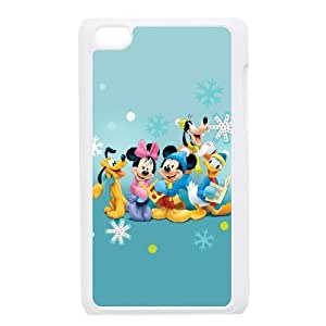 iPod Touch 4 Case White Disney Mickey Mouse Minnie Mouse Efhzv