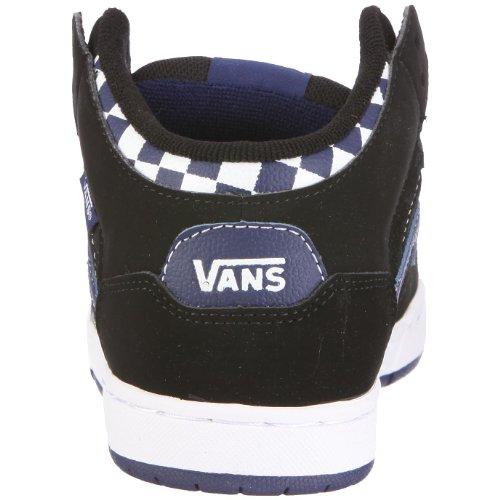 Vans B SKINK MID VIPC1KS - Zapatillas de deporte de cuero para niño Negro