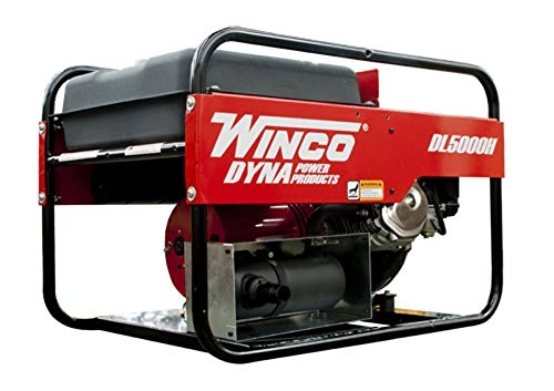 Winco DL5000H Industrial DYNA Portable Generator, 5,000W Maximum, 200 lb.