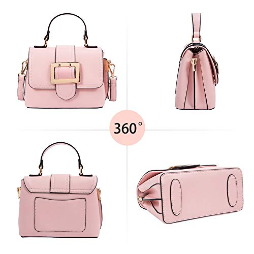 Bags Cell Women Crossbody Leisure Wallet the Travel Dating�� for Bright Pink Over Purse Shoulder Phone RenDian Handbags for A4w0qtI