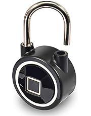 Micalock Biometrischer Intelligenter Vorhängeschloß-Fingerabdruck Bluetooth Keyless Entsperren IP65 Wasserdichte Neue Generation