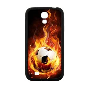Creative Fire Football Hot Seller High Quality Case Cove For Samsung Galaxy S4
