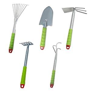 Windhager Gartenwerkzeug Kleingeräte - Set, 5-teilig