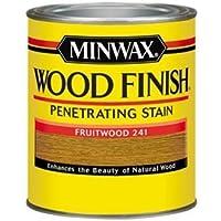 Minwax 70010 1 Quart Wood Finish Interior Wood Stain, Fruitwood by Minwax